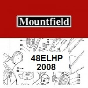 Mountfield 48EL HP Spares Parts Diagrams 48ELHP 2008