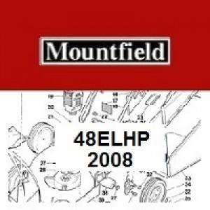 Mountfield 48EL HP Spares Parts Diagrams 48ELHP 2008