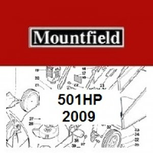 Mountfield MultiClip 501HP Spares Parts Diagrams 501 HP 2009
