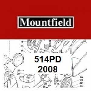 Mountfield 514PD Spares Parts Diagrams 514PD 2008