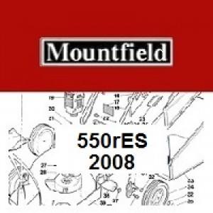 Mountfield 550R ES Spares Parts Diagrams 550 R ES 2008