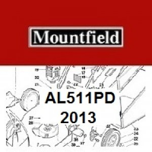 Mountfield AL511PD Spares Parts Diagrams AL 511 PD 2013