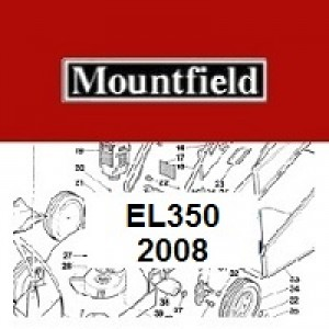 Mountfield EL350 Spares Parts Diagrams 350EL 2008