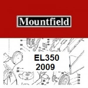 Mountfield EL350 Spares Parts Diagrams 350 EL 2009