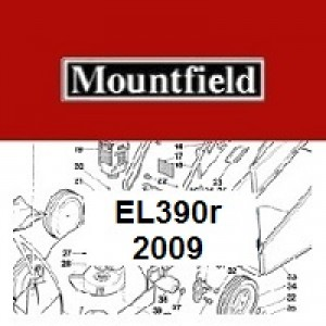 Mountfield EL390R Spares Parts Diagrams 350R EL 2009