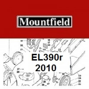 Mountfield EL390R Spares Parts Diagrams 390R EL 2010