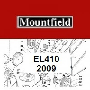 Mountfield EL410 Spares Parts Diagrams EL 410 2009