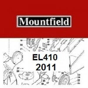 Mountfield EL410 Spares Parts Diagrams EL 410 2011