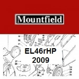 Mountfield EL46RHP Spares Parts Diagrams EL46R HP 2009