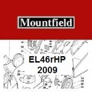 Mountfield EL46RHP Spares Parts Diagrams EL46R HP 2009