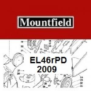 Mountfield EL46RPD Spares Parts Diagrams EL46R PD 2009