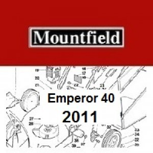 Mountfield Emperor 40 Spares Parts Diagrams Emperor 40 2011