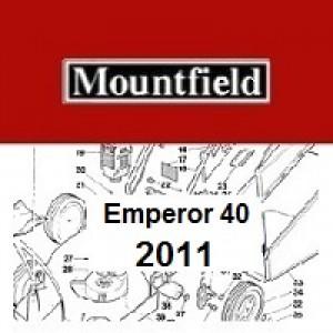 Mountfield Emperor 40 Spares Parts Diagrams Emperor 40 2011