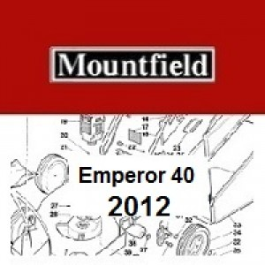 Mountfield Emperor 40 Spares Parts Diagrams Emperor 40 2012