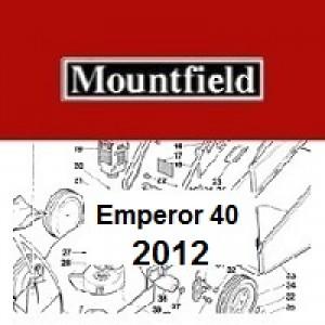 Mountfield Emperor 40 Spares Parts Diagrams Emperor 40 2012
