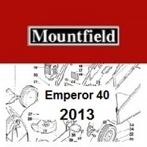 Mountfield Emperor 40 Spares Parts Diagrams Emperor 40 2013