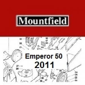 Mountfield Emperor 50 Spares Parts Diagrams Emperor 50 2011