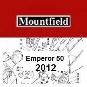 Mountfield Emperor 50 Spares Parts Diagrams Emperor 50 2012