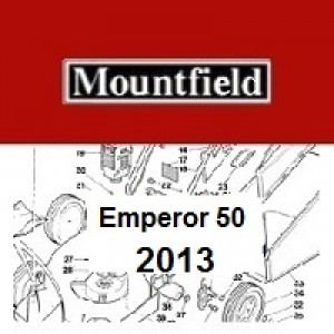 Mountfield Emperor 50 Spares Parts Diagrams Emperor 50 2013
