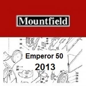 Mountfield Emperor 50 Spares Parts Diagrams Emperor 50 2013