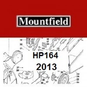 Mountfield HP164 Spares Parts Diagrams HP 164 HP 2013