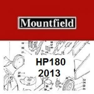 Mountfield HP180 Spares Parts Diagrams HP 180 HP 2013