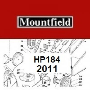 Mountfield HP184 Spares Parts Diagrams HP 184 HP 2011