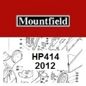 Mountfield HP414 Spares Parts Diagrams HP 414 HP 2012
