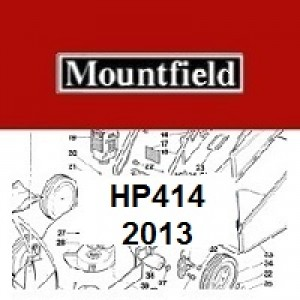 Mountfield HP414 Spares Parts Diagrams HP 414 HP 2013