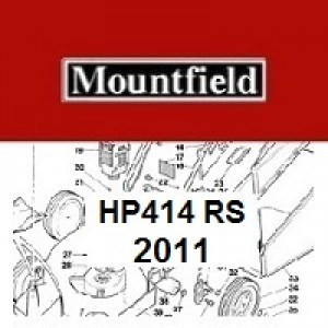 Mountfield HP414 Spares Parts Diagrams HP 414 HP RS100 2011