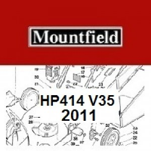 Mountfield HP414 Spares Parts Diagrams HP 414 HP  V35 2011
