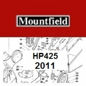 Mountfield HP425 Spares Parts Diagrams HP 425 HP 2011