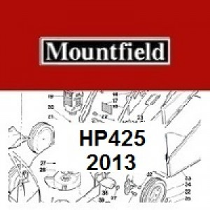 Mountfield HP425 Spares Parts Diagrams HP 425 HP 2013