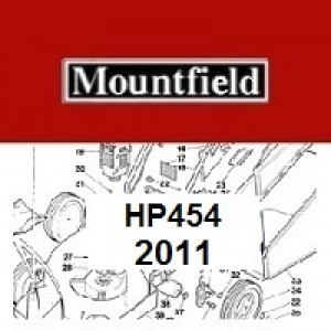 Mountfield HP454 Spares Parts Diagrams HP 454 HP 2011