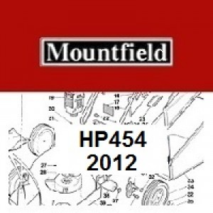 Mountfield HP454 Spares Parts Diagrams HP 454 HP 2012