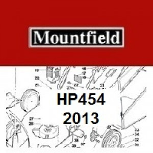 Mountfield HP454 Spares Parts Diagrams HP 454 HP 2013