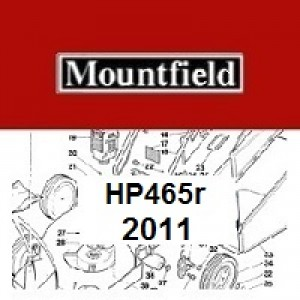 Mountfield HP465R Spares Parts Diagrams HP 465R HP 2011