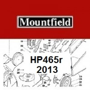 Mountfield HP465R Spares Parts Diagrams HP 465R HP 2013