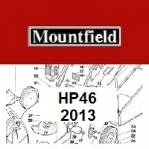Mountfield HP46 Spares Parts Diagrams HP 46 HP 2013