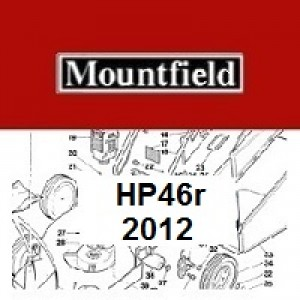 Mountfield HP46R Spares Parts Diagrams HP 46 R 2012