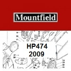 Mountfield HP474 Spares Parts Diagrams HP 474 HP 2009