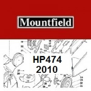 Mountfield HP474 Spares Parts Diagrams HP474 2010