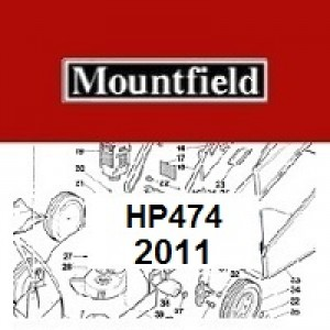 Mountfield HP474 Spares Parts Diagrams HP 474 HP 2011