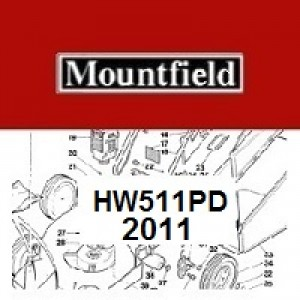 Mountfield HW511PD Spares Parts Diagrams HW511PD 2011