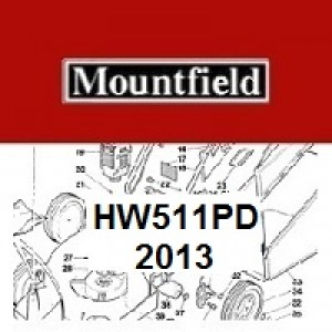 Mountfield HW511PD Spares Parts Diagrams HW 511 PD 2013