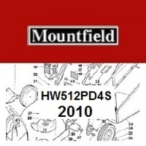 Mountfield HW512PD4S Spares Parts Diagrams HW 512PD 2010