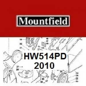 Mountfield HW514PD Spares Parts Diagrams HW 514PD 2010
