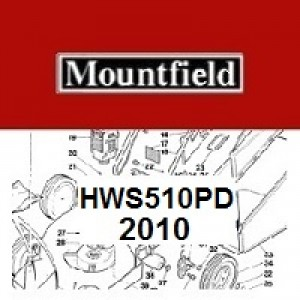 Mountfield HWS510PD Spares Parts Diagrams HWS510PD 2010