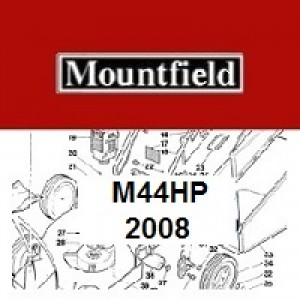 Mountfield M44HP Spares Parts Diagrams M44 HP 2008