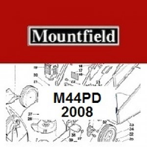 Mountfield M44PD Spares Parts Diagrams M44 PD 2008